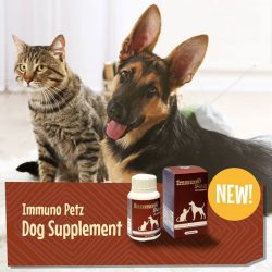 [Pet Lovers Centre Singapore] Immuno-Petz UltraDerm helps to: Boost immune system Enhance skin renewal process Improve physical vitality & energy Promote general health http://