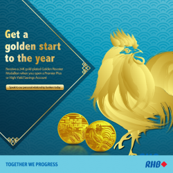 [RHB BANK] Enjoy more flexibility and higher returns with RHB's Premier Plus or High-Yield Savings account. With a minimum deposit