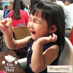 [Morganfield's] Kids eat for FREE at Morganfield's on weekends & PH!