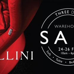 [Cellini] Splurge on the best of modern interiors with Cellini's Warehouse Sale happening this 24-26 February! Enjoy price drops