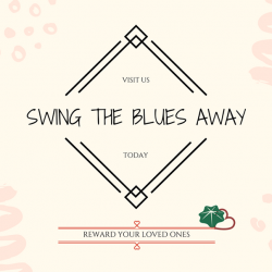 [Natural Living] TGIW! Looking for a way to cheer up your loved ones? Swing the blues away with our lovely swings!Reward