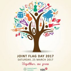 [Disabled People's Association] DPA and Very Special Arts Singapore Ltd (VSA)'s Joint Flag Day on 25 March 2017 promises to be different,