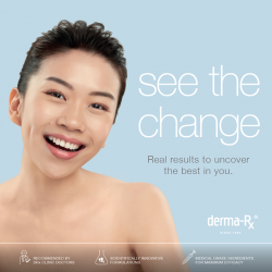 [Isetan] Visit Derma-Rx® at Isetan Jurong East, L1 from 3 – 14 Feb and receive a complimentary professional skin consultation and