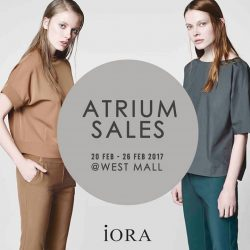 [IORA] Post festive sales going on! Visit us now! #iorasg #sales #westmall