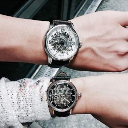 [Arbutus] This Valentine's Day, get your very own couple style with Arbutus skeleton watches!Visit us at our pop up