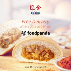 [Old Chang Kee Singapore] FREE DELIVERY when you order our food via Foodpanda platform now. Valid for Old Chang Kee, Curry Times & Bun Times