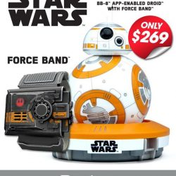 [PLAYe] Feel the power of the force when you pair the Force Band with that BB-8 by Sphero. Get the