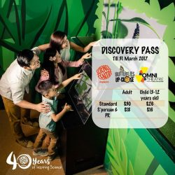 [Elements @ Play by Science Centre Singapore] Celebrate 40 years of inspiring science with up to 40% savings at Science Centre Singapore! Grab our Discovery Pass and