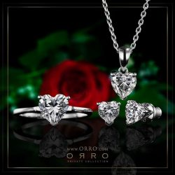 [ORRO Jewellery] This Valentine's Day…Pamper your significant other with the sweetest gift from ORRO's exclusively designed jewelry pieces. Surprise &