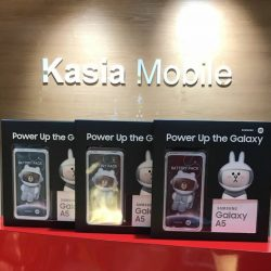 [Kasia Mobile] Samsung A5 2017 $460 Black, Gold, Peach Free Line Friends Powerbank Warranty by Samsung Singapore 1 Year