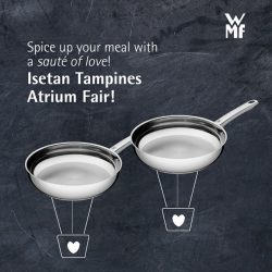 [WMF] Fry up a sizzling meal for two with WMF at the Isetan Tampines atrium sale from 8 – 14 Feb!Special