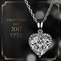[ORRO Jewellery] Still looking for a Valentine's Day Gift?Visit any ORRO outlet now to select a jewel that is so