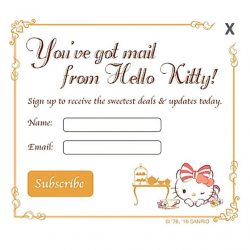 [Hello Kitty Orchid Garden] You've got mail....... from Hello Kitty! 💌Head to our website at www.hellokittyorchidgarden.com and subscribe to our mailing