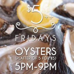 [The Beacon] This Friday only we are serving Aigue Marine Special Oyster!!!!! 5for$5++ with any drink order and 1for1 All Draught