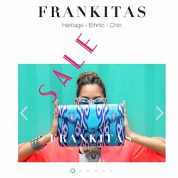 [Frankitas] Frankitas is on S A L E  till Friday Midnight folks! 🎉Log in to www.frankitas.com to check out