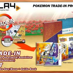 [GAME XTREME] HG/SS Trade-In Promo - While Stocks LastIf you have yet to play Pokemon Sun & Moon (What are you