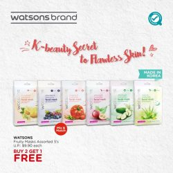 [Watsons Singapore] Psst, want to know the Korean secret to flawless skin? There isn't just 1… but 6 moisturising goodness for