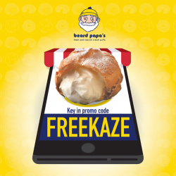 [Beard Papa Singapore] Beard Papa is now online!Now you can get Japan No.1 Cream Puff at the comfort of your home