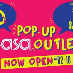 [Sasa Singapore] Back by popular demand! We see how much our shoppers at #SasaPopUpOUTLET is enjoying the complimentary Mid-day Touch Up