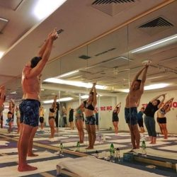 [BIKRAM YOGA] It doesn't matter if your postures aren't perfect. YOUR practice is YOUR time to feel alive, loved and