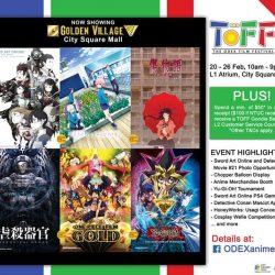 [City Square Mall] Singapore's first ODEX Film Fest (TOFF) is now on at City Square Mall, L1 Atrium!From now till 26