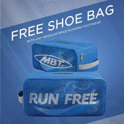 [MBT] MBT Concept Store Promotion - Free MBT Mesh Shoe Bag with every pair of regular-priced running shoes purchase! While stocks
