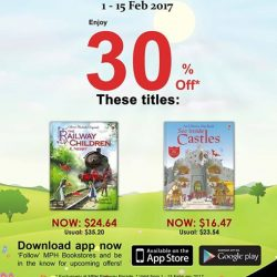 [MPH] Exclusive MPH Offer On Parkway Parade App30% off The Railway Children & See Inside Castles Exclusively at MPH Parkway Parade