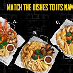 [The Manhattan FISH MARKET Singapore] Have you had a Feast Fight yet? Try matching the dishes to the correct names! Psssst, we might just decide