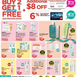 [Watsons Singapore] Enjoy great Buy 2 Get 1 deals and start collecting stamps to redeem your very own Lock & Lock container sets! :)