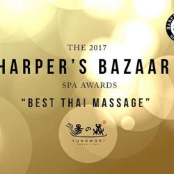 [Yunomori Onsen and Spa] We are honoured to receive the Best Thai Massage award from @harpersbazaarsg! Thank you for the award! To celebrate, we