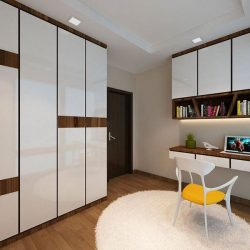[Elegance Concept] Project location: 312B ClementiA sleek and modern interior that totally disguise the look of a typical HDB flat. With