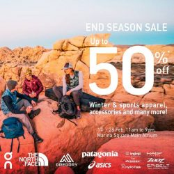 [Marina Square] Enjoy up to 50% off at the End Season Sale happening at the Central Atrium from now till 26 Feb!