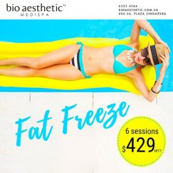 [Bio Aesthetic] Freeze it off! Freeze it all off - let the power of ice reduce fat at a cellular level. Call us