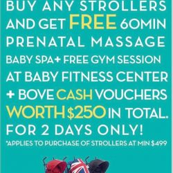 [Spring Maternity] Weekend offer! 18 - 19 Feb only :) Mummies & daddies, u wouldn't want to miss this! Valid at BOVE located at