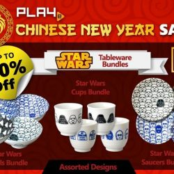 [PLAYe] Are you compelled to get the full series of Star Wars table ware? Enjoy great discounts with our bundle packages