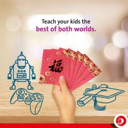 [OCBC ATM] Now that Chinese New Year is over, what advice should you give your children about their red packet money? Our