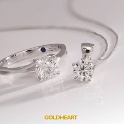 [Goldheart Jewelry Singapore] A gift for your Valentine?Find the best Solitaire Deals, romantic gifts from $198 & more at the Goldheart New Year