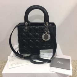 262985e3dfdb  MADAM MILAN  Sneak Preview  FE Brand Model  Dior Lady Dior Medium SHW Bag  Price   3950 (RP  5900) Item Code  FE9242B FE60RP 1