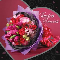 [Noel Gifts] Take 14% off this beautiful Valentine's bouquet at $128.40 only! Sale ends tonight and while stocks last. Shop