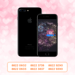 [M1] Couple up this Valentine's Day with matching mobile numbers! What's more, enjoy free lucky numbers worth up to $