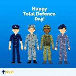 [POSB Autolobby] Total Defence involves all of us putting our hearts, minds and wills together for the safety and security of our