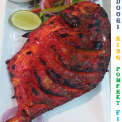 [SPICE 101] Catch this Tandoori Fish at Spice 101. Its Tender ,Fresh and Delicious. Usual Price $25.00. Promotional Price $18.00.