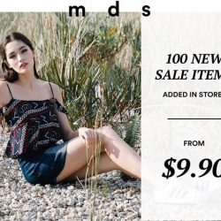 [MDSCollections] Shop newly added sale items in stores from $9.90 onwards. Promo available across all stores except ION & Junction 8.