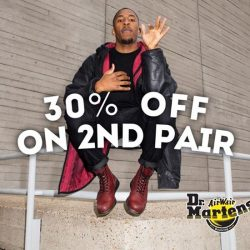 [Dr Martens] A couple shoes for the Valentines Day. Get 30% off on the second pair of any Docs in regular price.