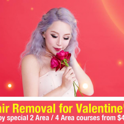 [Datsumo Labo] Our Valentine's Promotion has begun! Start your journey to smooth skin with our 6 Session packages starting from only $