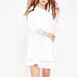 [The Showcase] White x Lace x Bell-sleevesShop new arrivals from Megagamie at Nex outlet!Credit: #Megagamie