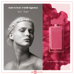[Metro] This Valentine's Day, release your effortless grace with fleur musc: the encounter between a generous bouquet of roses and