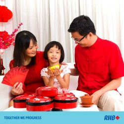 [RHB BANK] Your child's red packet money could be a tool for educating your young one on how to spend his