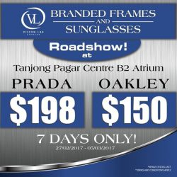 [Vision Lab] Branded frames and sunglasses roadshow!