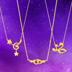 [CITIGEMS] Brighten any mood and style with these modern gold jewellery designs designed for urban wear, and doubles up as a